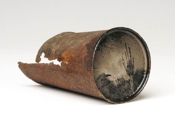 Photography on Old Rusty Cans 5 • Recycled Art