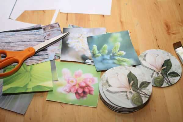 Cardboard-Coasters-Instigram-Photo-Circle-Home-Decor-Diy-Craft-Blog-Recycled-Trashy-Crafter1