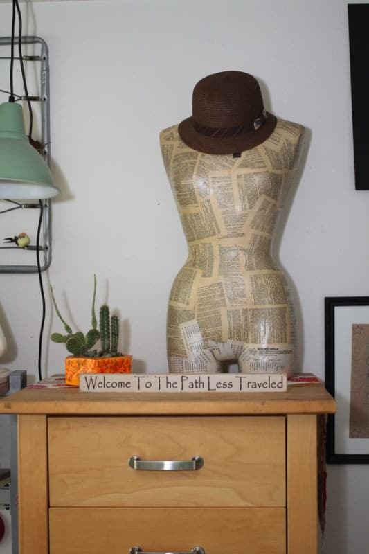 Recycled-Mannequin-Hat-holder-recycled-craft-blog-trashy-crafter1