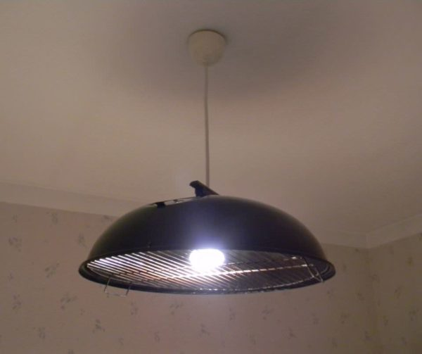 Ufo Grill Lamp 1 • Lamps & Lights