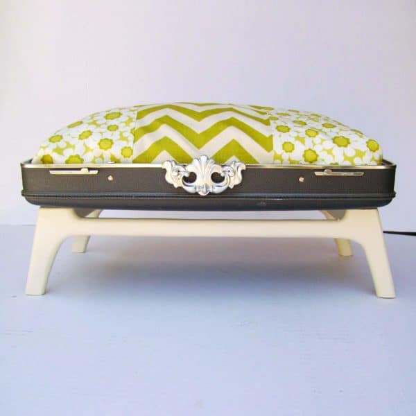 Suitcase Pet Beds Made from Vintage Suitcases 1 • Recycled Furniture