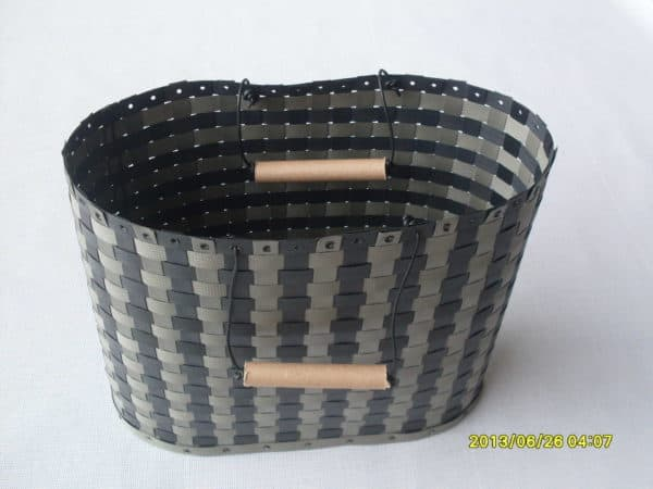 Baskets Made from Waste Polypropylene Strapping Tapes 5 • Recycled Plastic