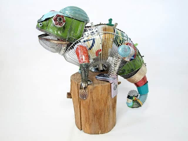 Animal Sculptures Made from Recycled Materials 1 • Recycled Art