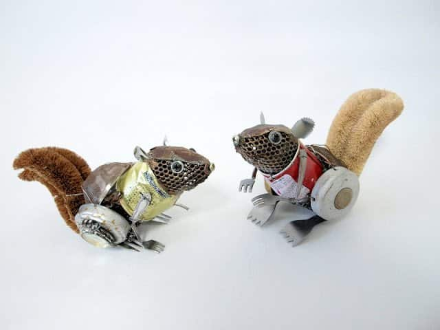 Animal Sculptures Made from Recycled Materials 9 • Recycled Art