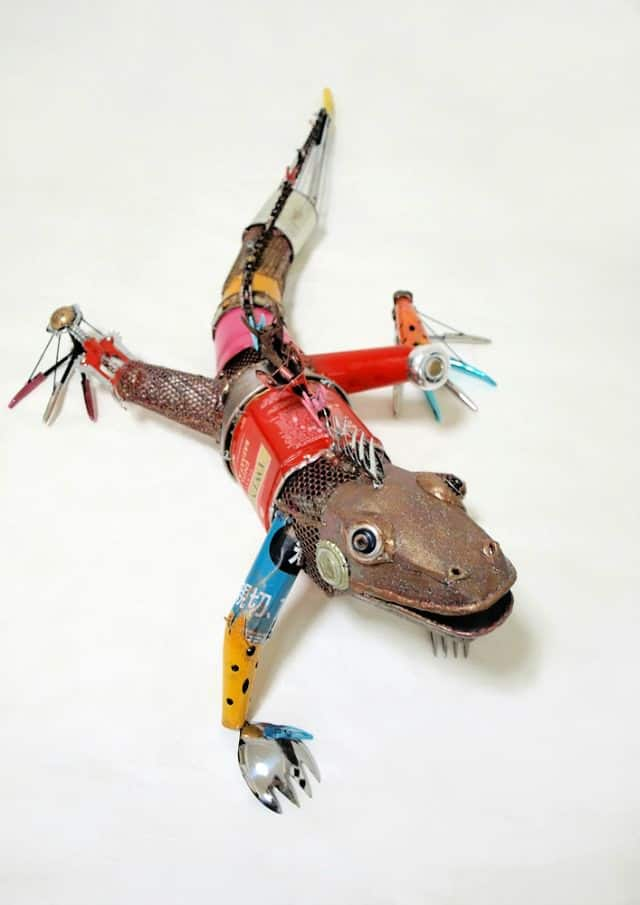 Animal Sculptures Made from Recycled Materials 5 • Recycled Art