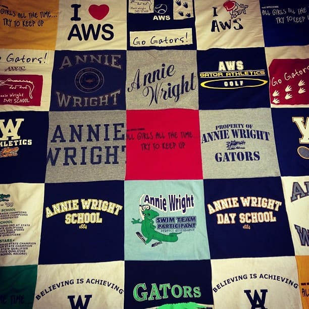 Turn Your Old T-shirts Into A Quilt T-shirt Accessories Clothing