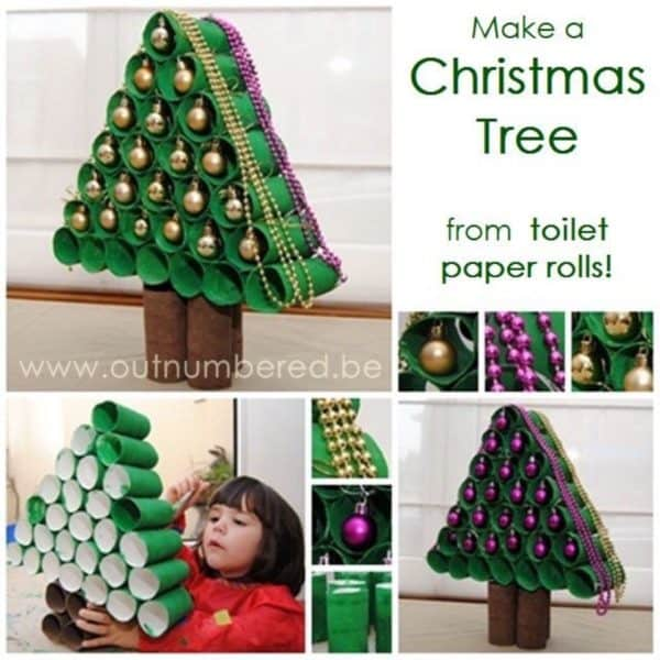 10 Christmas Craft Projects Made Out Of Upcycled Toilet Paper Rolls 19 • Do-It-Yourself Ideas