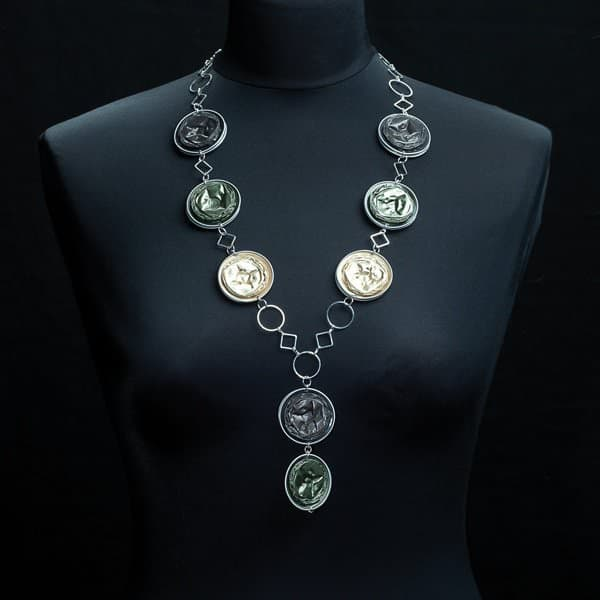 10 Jewelry Ideas Made from Recycled Nespresso Capsules 17 • Upcycled Jewelry Ideas