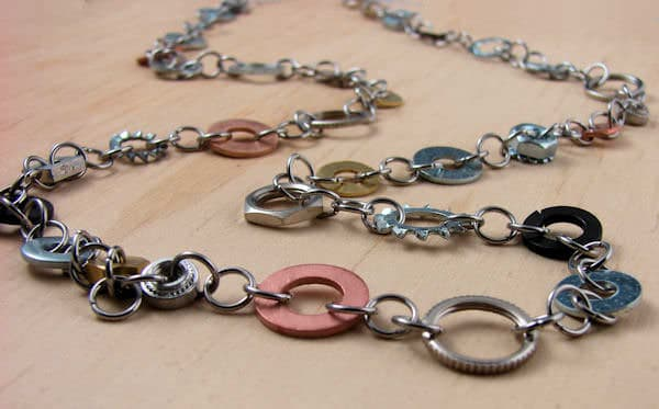 Long-Multi-Washer-Chain-for-recycled-art