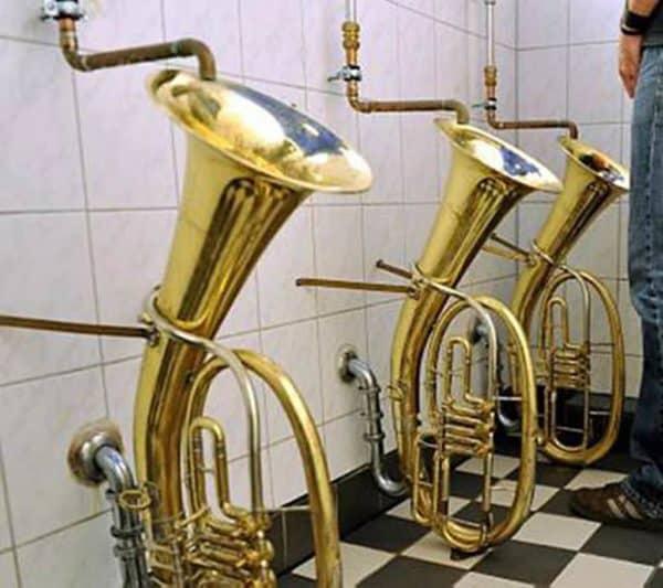Trombones-urinals