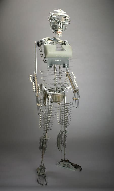 Jeremy Mayer Recycled Typewriter Sculptures 7 • Recycled Art