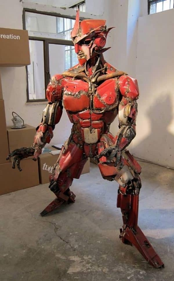 The Real Transformer: Made from an Old Car 5 • Mechanic & Friends