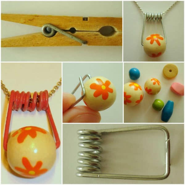 50+ Creative Ways of Reusing Clothespins 4 • Accessories