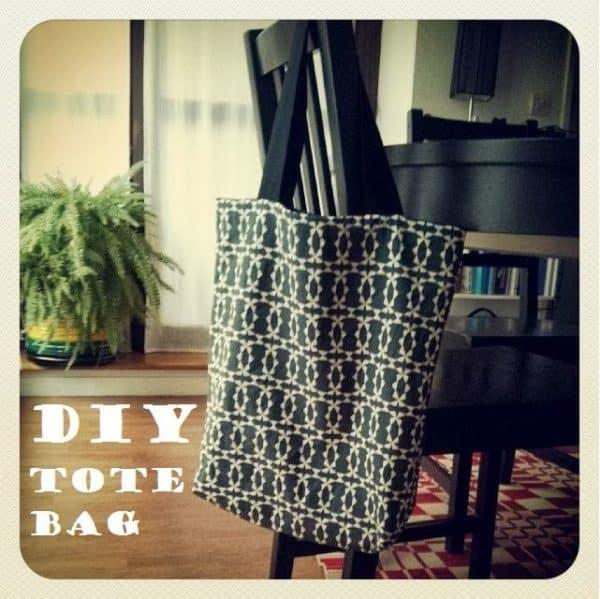 Tote Bag Réversible DIY 2