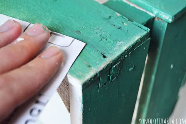 Fruit Box Bedside Table Do-It-Yourself Ideas Recycled Furniture