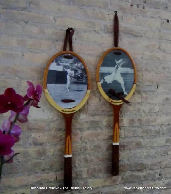 Como-reutilizar-una-raqueta-de-tenis-y-convertirla-en-un-portaretratos.-Reusing-a-Tennis-Racket-16