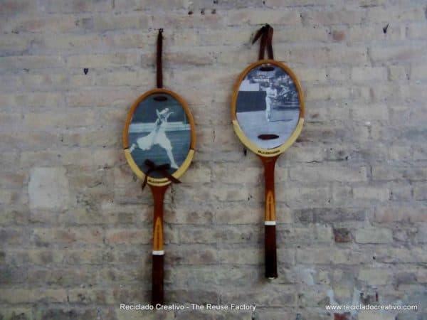 Como-reutilizar-una-raqueta-de-tenis-y-convertirla-en-un-portaretratos.-Reusing-a-Tennis-Racket-4