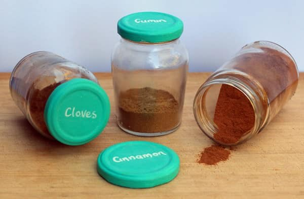 Colourful-spice-jars
