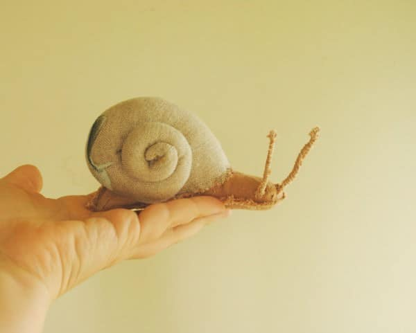 Upcycled-Textile-Snails-03