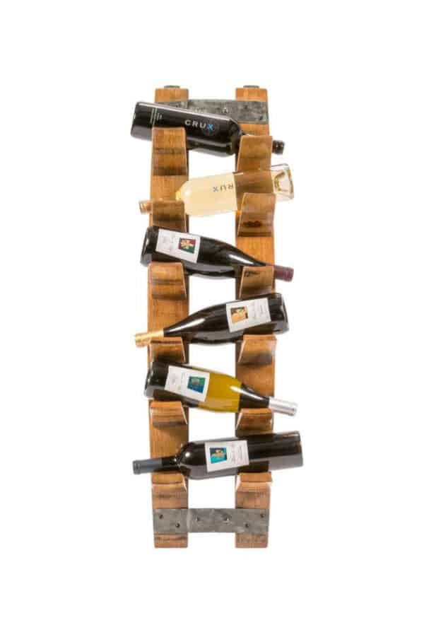 14 Original Wine Racks From Recycled Materials 9 • Accessories