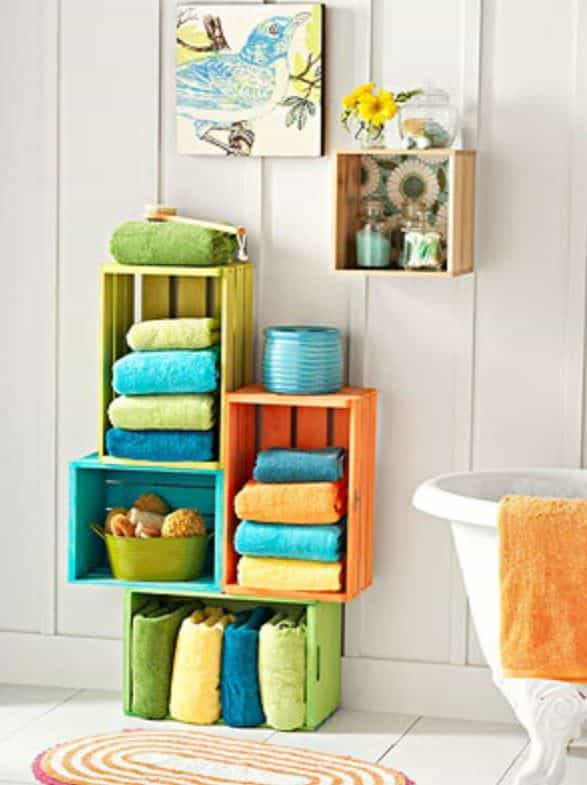 12 Upcycled Crate ideas 11