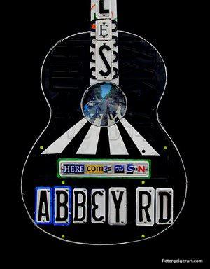 Beatles-Abbey-Road-guitar-art
