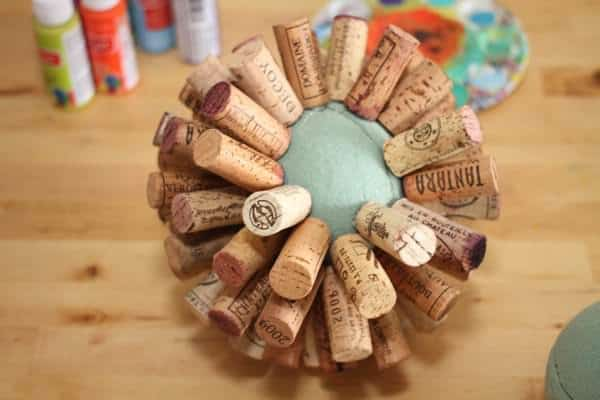 Recycled-wine-cork-globe-ball-tutorial3