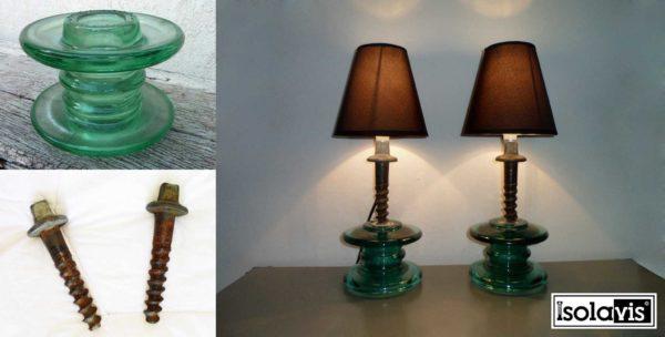 30+ Creative Ideas Using Vintage Glass Insulators 40 • Do-It-Yourself Ideas