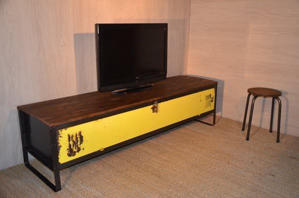 meuble-tv-jaune-1