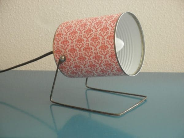 Upcycled Tin Can Into Retro Lamps 1 • Lamps & Lights