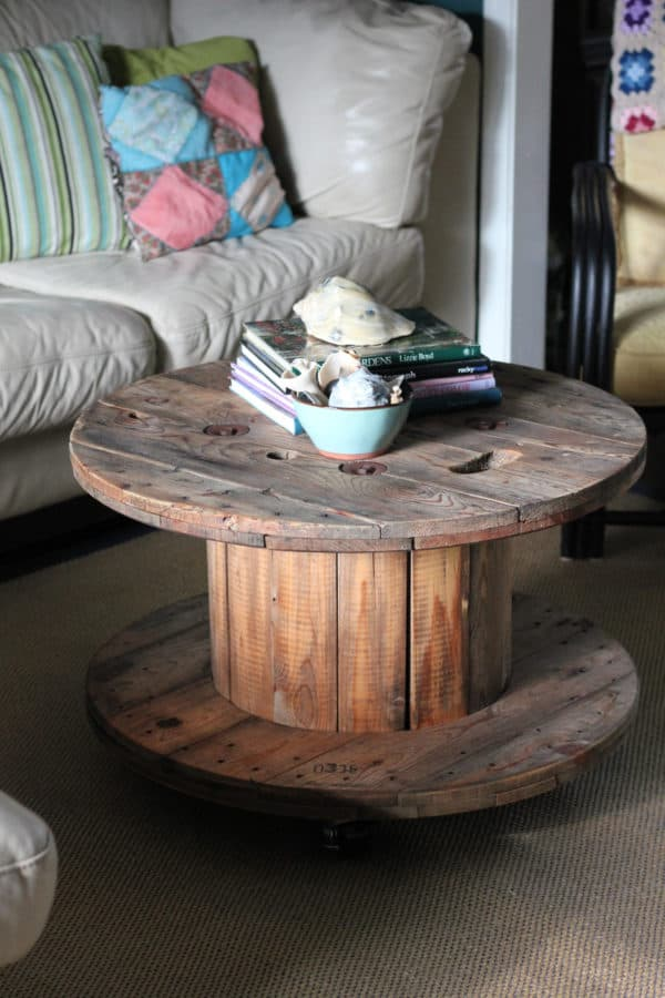 6 Creative Ideas For Reusing Reels In Your Home Décor 3 • Recycled Furniture