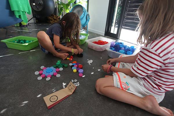Clip It: Educational, Creative and Sustainable Game, 90% Upcycled! 1 • Interactive, Happening & Street Art