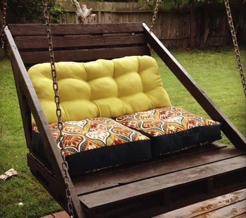garden-swing-from-pallets