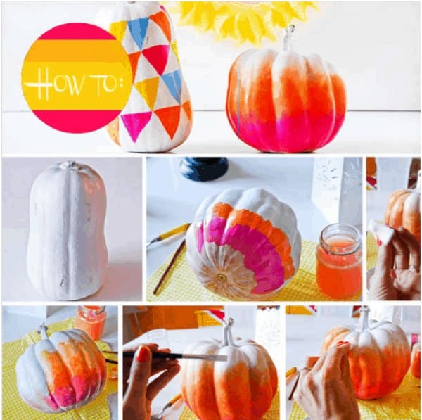 Last-minute Halloween Pumpkin Decoration 3 • Do-It-Yourself Ideas