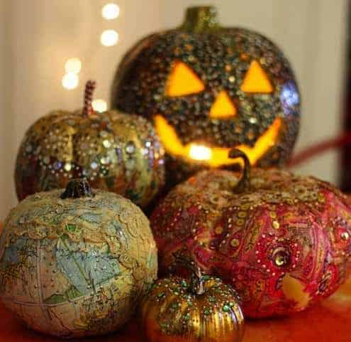 Last-minute Halloween Pumpkin Decoration 7 • Do-It-Yourself Ideas