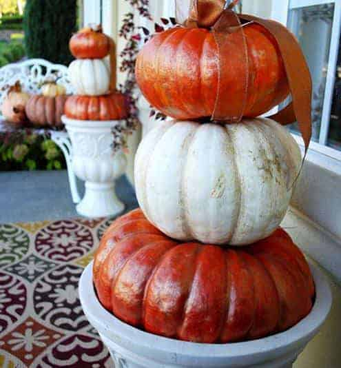 Last-minute Halloween Pumpkin Decoration 5 • Do-It-Yourself Ideas