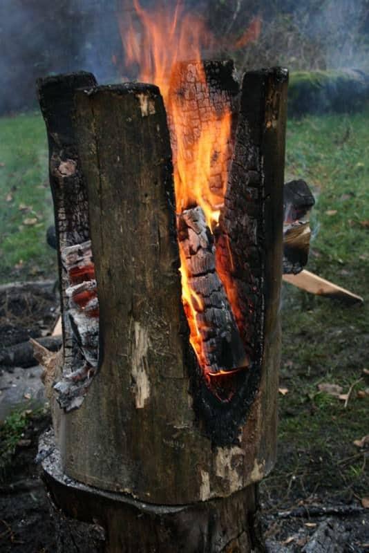 Swedish-Torch-Fire-Log-Stool