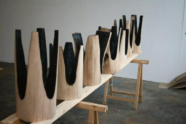 Upside-Down-Ausgebrannt-Stools-with-Burnt-Interiors