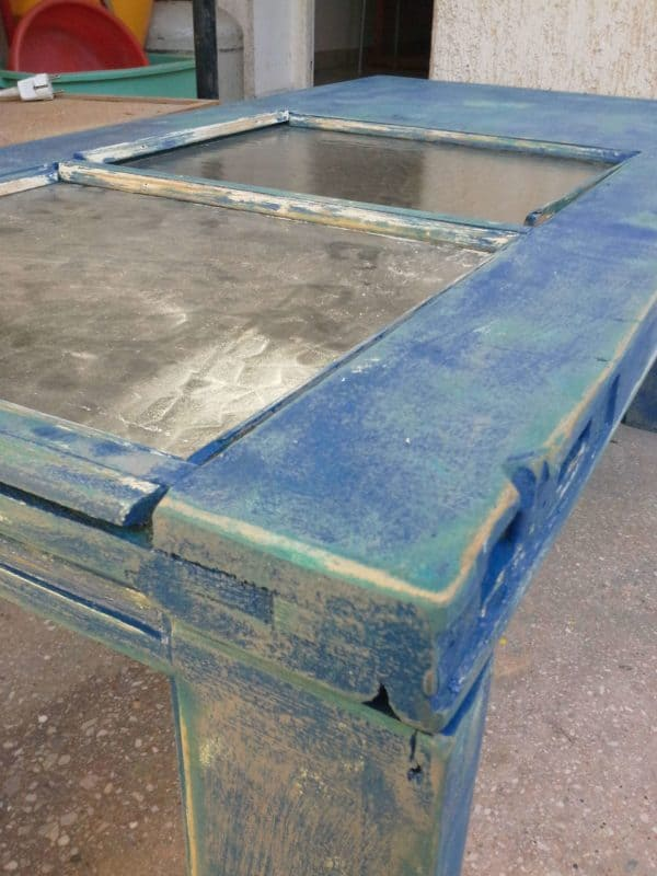Upcycled Door Table 4 • Recycled Furniture