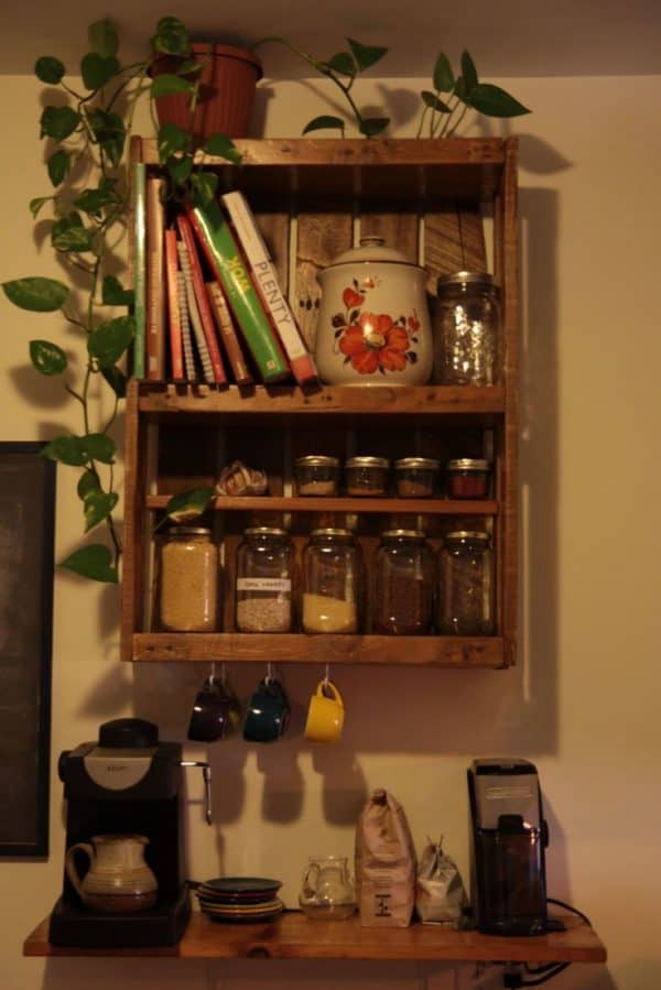 30+ Ways of Reusing Wooden Pallets In Your Kitchen 6 • Recycled Pallets