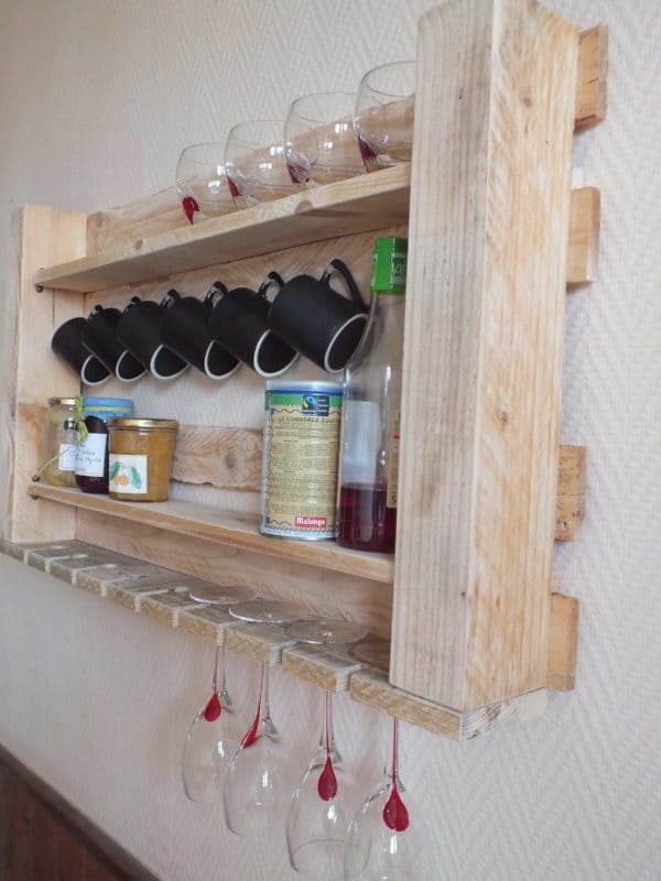 30+ Ways of Reusing Wooden Pallets In Your Kitchen 14 • Recycled Pallets