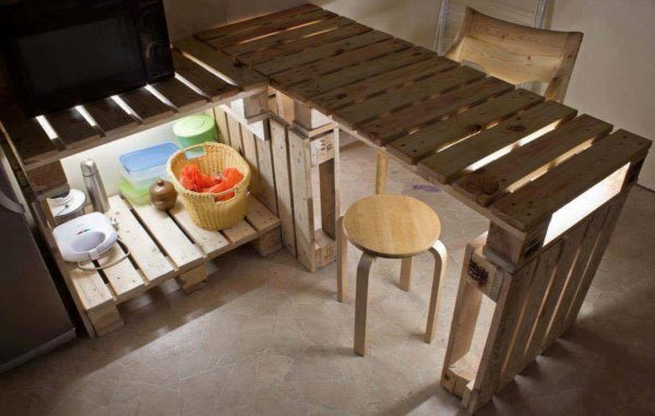 30+ Ways of Reusing Wooden Pallets In Your Kitchen 47 • Recycled Pallets