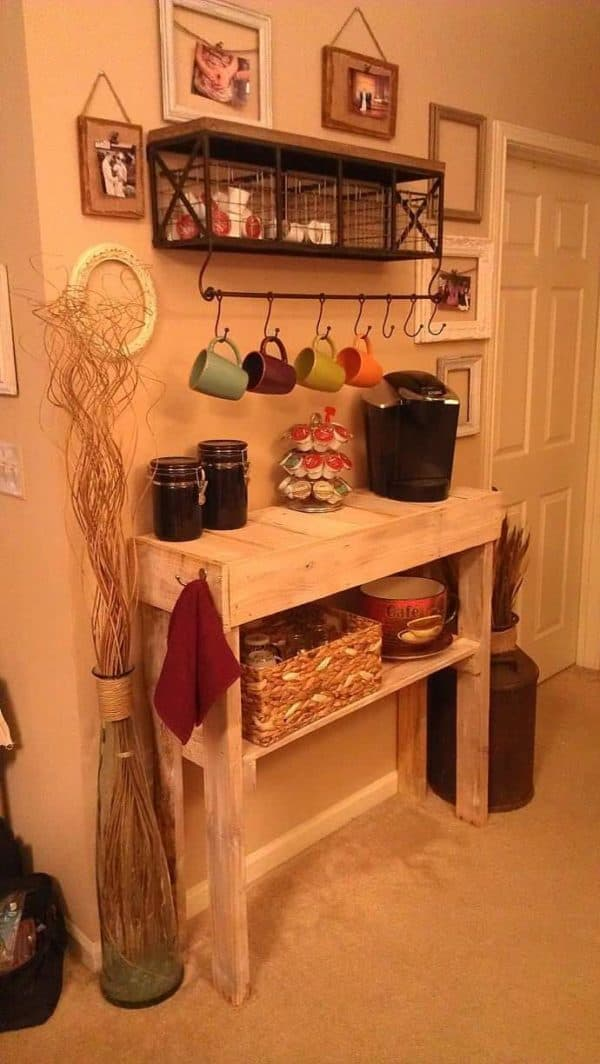 30+ Ways of Reusing Wooden Pallets In Your Kitchen 25 • Recycled Pallets