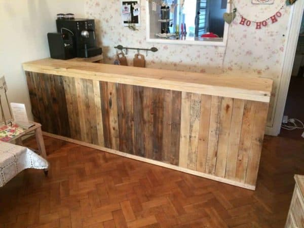 30+ Ways of Reusing Wooden Pallets In Your Kitchen 30 • Recycled Pallets