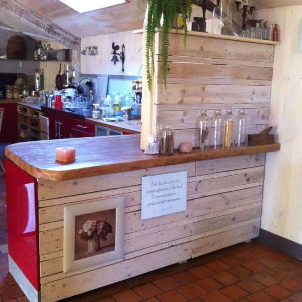 30+ Ways of Reusing Wooden Pallets In Your Kitchen 43 • Recycled Pallets