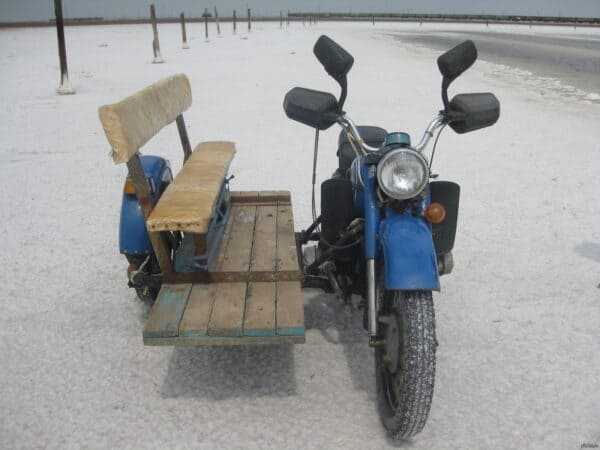 Pallet Bench Sidecar 1 • Recycled Pallets