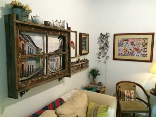 Old Window, New Decorative Frame 3 • Accessories