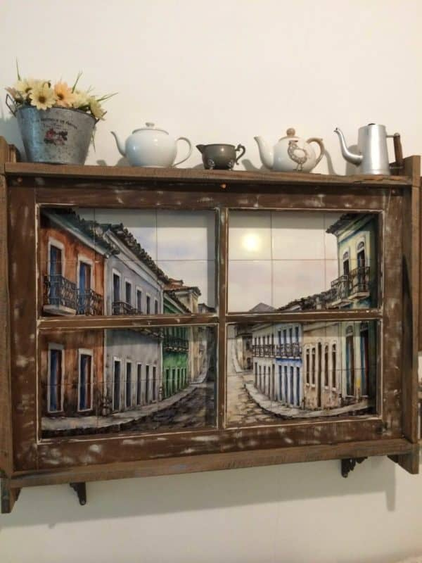 Old Window, New Decorative Frame 1 • Accessories