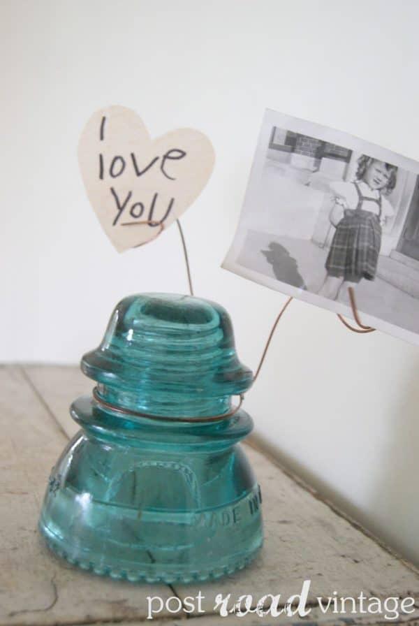 30+ Creative Ideas Using Vintage Glass Insulators 53 • Do-It-Yourself Ideas