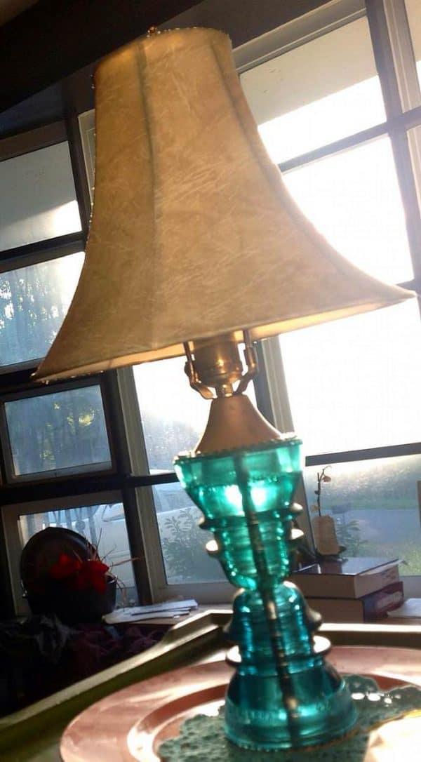 30+ Creative Ideas Using Vintage Glass Insulators 34 • Do-It-Yourself Ideas